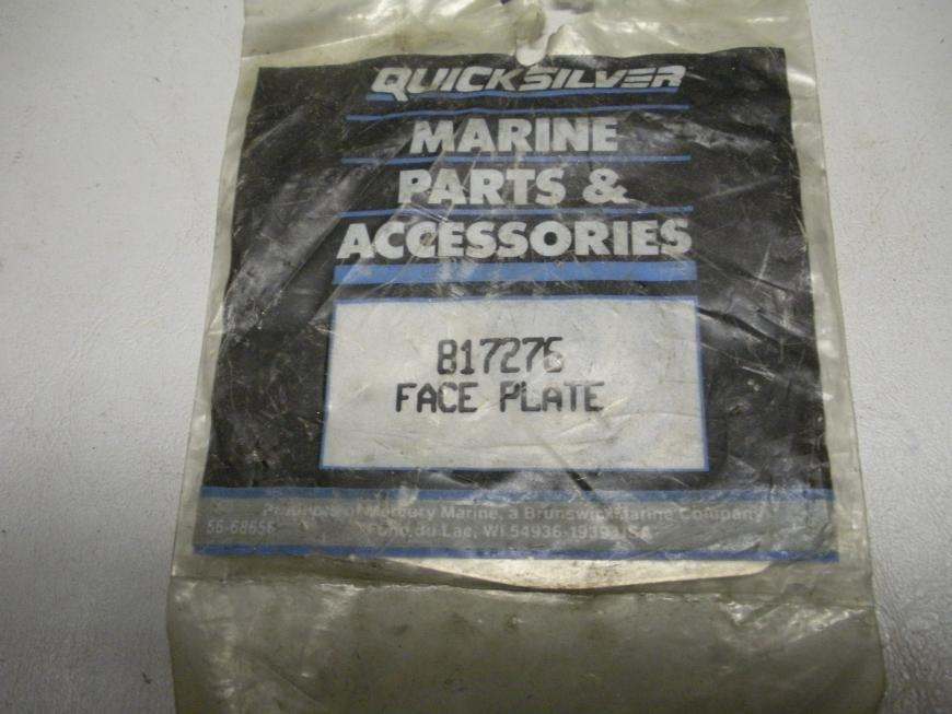 Mercruiser Quicksilver Face Plate 817276