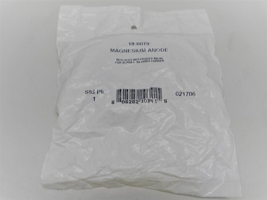 Sierra Magnesium Anode 18-6079 Replaces Mercruiser 806105