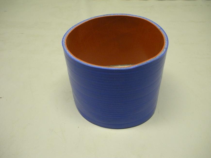 """Blue Silicone Marine Hose 6"""" X 4 7/8"""" Length"""
