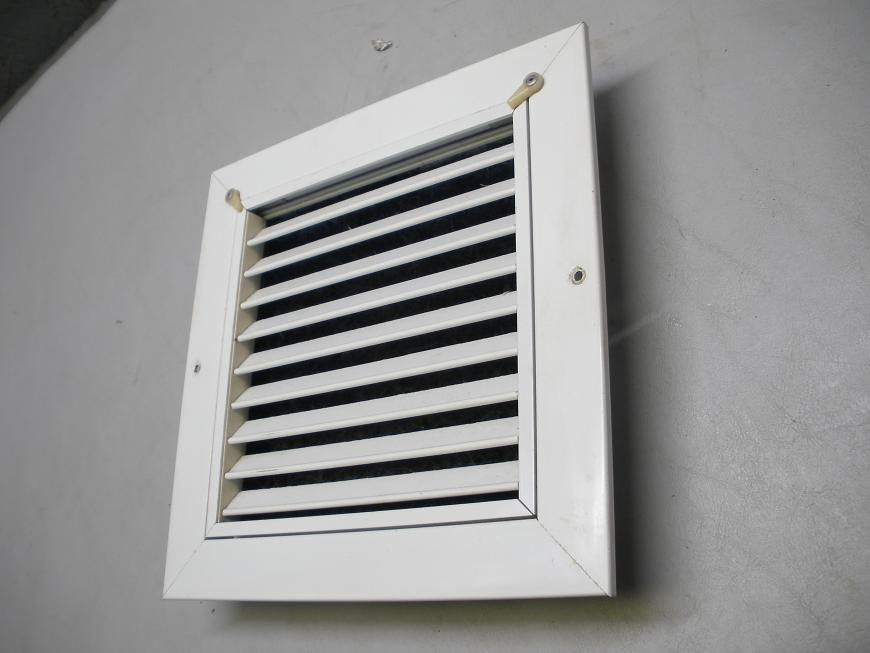 Boat RV HVAC Register Vent Grille With Replaceable Filter