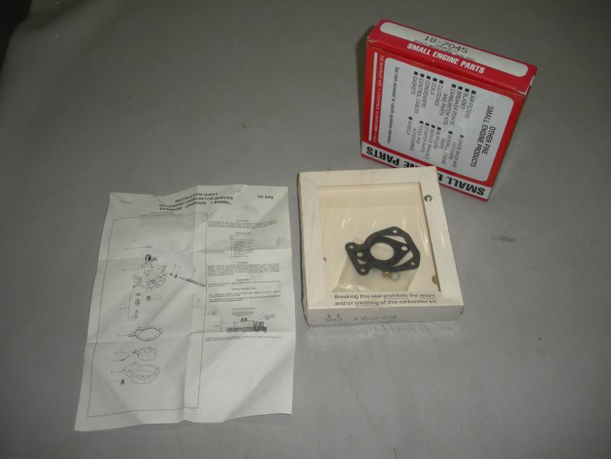 Sierra Prime Line Carburetor Repair Kit 18-7045 Replaces Johnson Evinrude